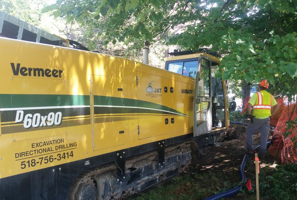 Directional drilling, trenchless Albany, Saratoga, Glens Falls NY